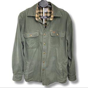 Carhartt Plaid Lined Jacket Coat
